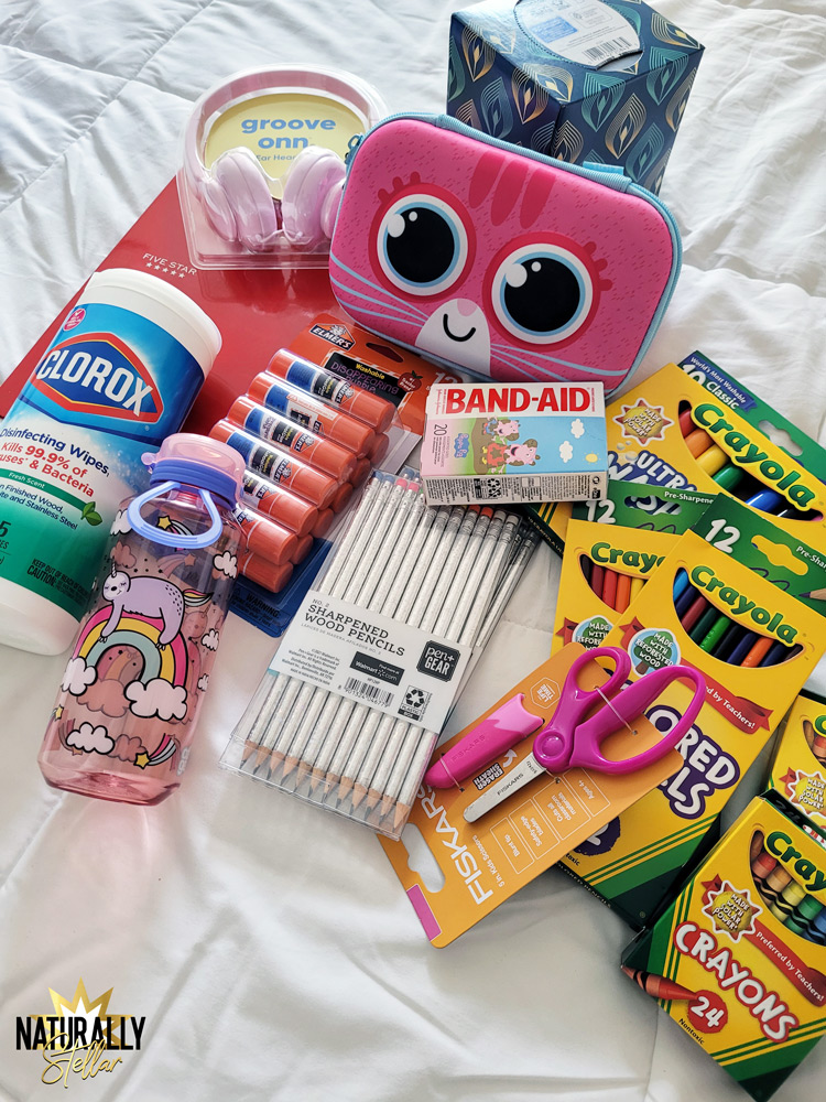 Why I used Walmart Plus for my kids back to school supplies shopping   Naturally Stellar
