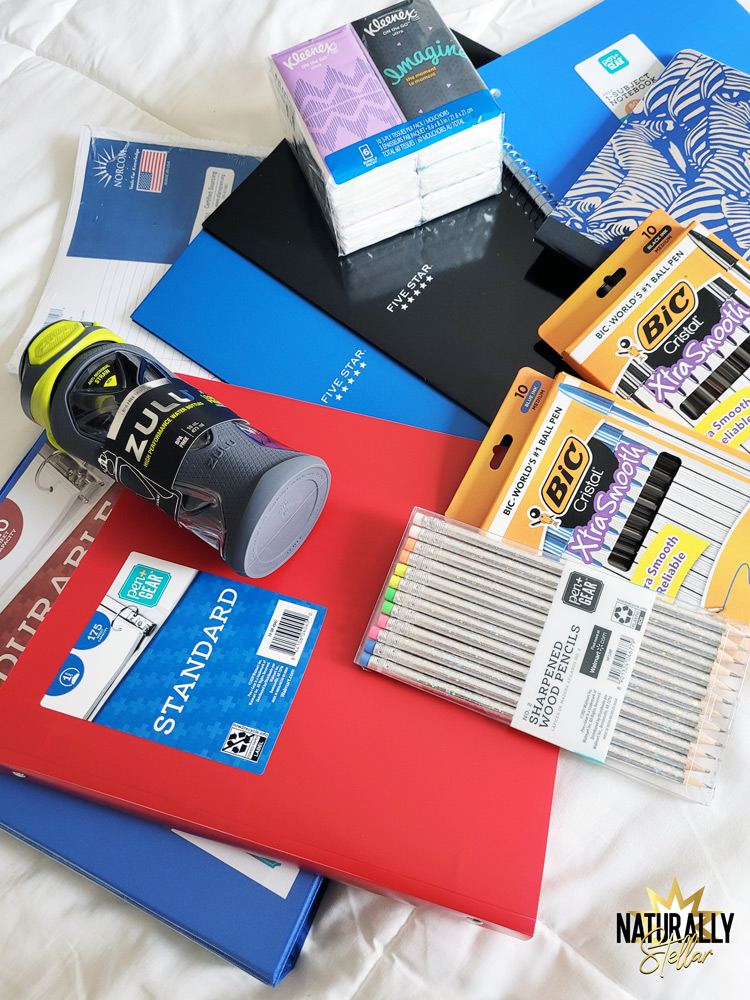Why I chose Walmart Plus for back to school supply shopping   Naturally Stellar