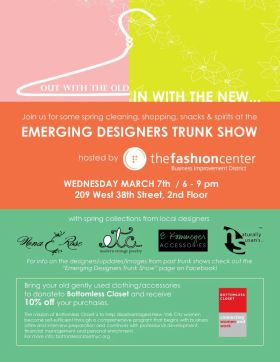 Emerging Designers Trunk Show