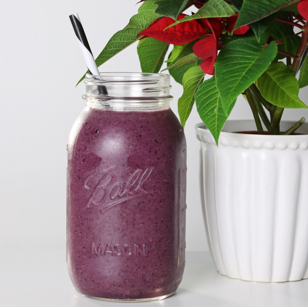 Anti-oxidant acai smoothie