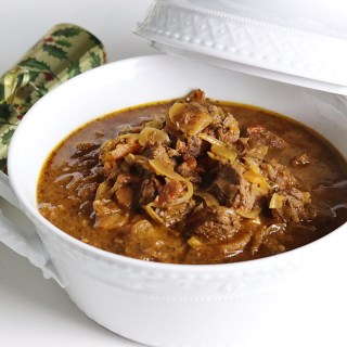 Healthy Beef Goulash