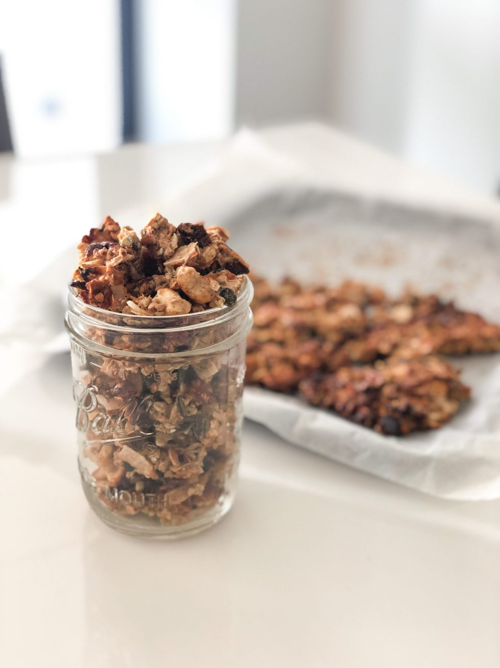 Goji Cashew Protein Granola