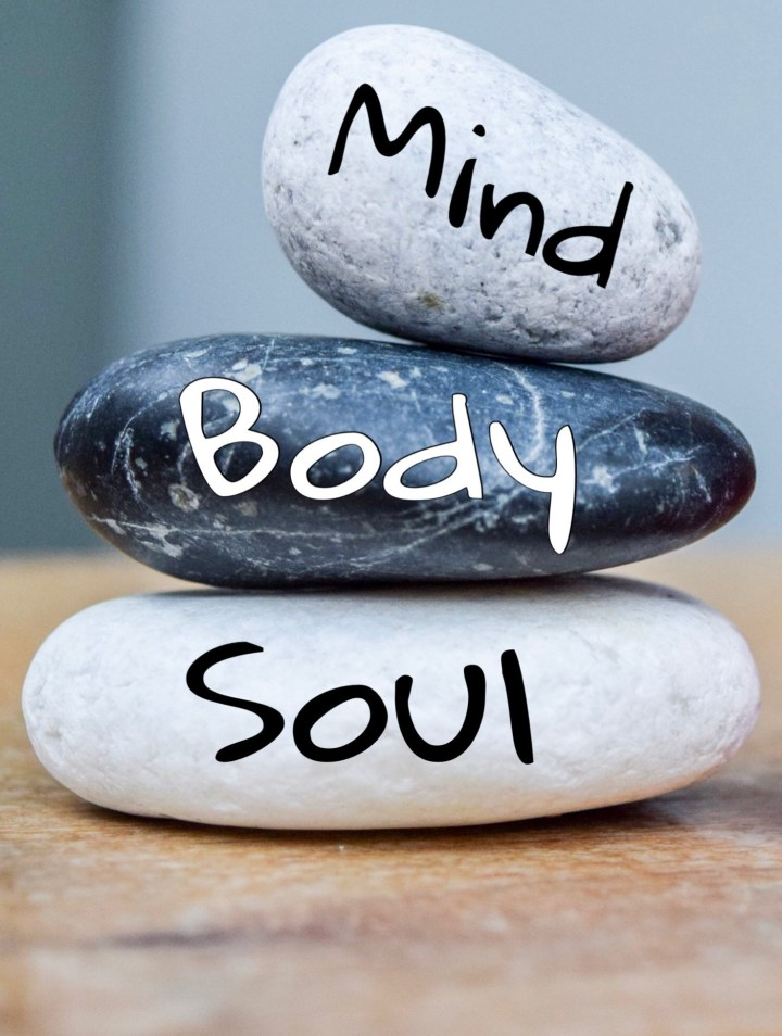 A rock pile symbolizing renewal of mind, body and soul and one of the six keys to optimal health from Naturally. . . You.