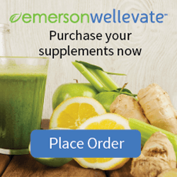 Emerson Wellevate nutritional supplement order button