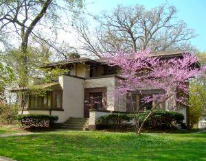 redbud prairie style house