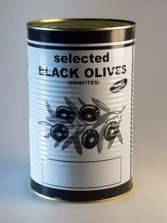 Упаковки оливок
