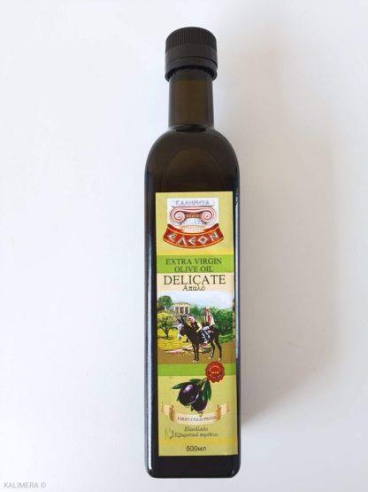 ELEON DELICATE Extra Virgin Оливковое масло 500ml Эконом