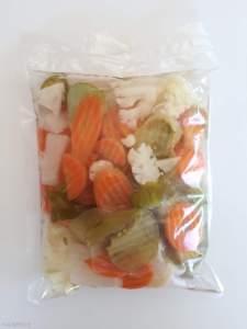 Набір для солянки Змішані овочі 860г м.нетто,430г сухой.в, Пет пакет 70821