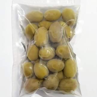 Маслини Каламатас з кісточкою в морській солі ПЕТ-пакетикі 3кг калибр Jumbo 181-200 70425