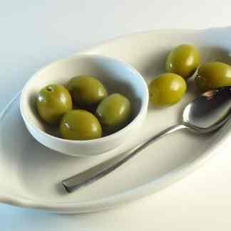 Амфисис Зелені оливки з кісточкою морській солі 3л ПЭТ-банка 1.9кг с.в. калибр Jumbo 181-200