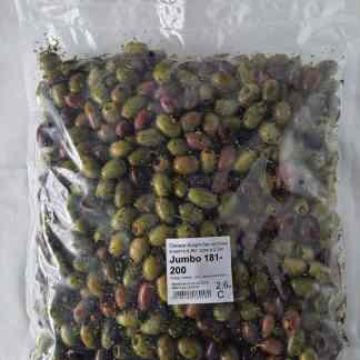 """Асорті 2х без кісточки у маринаді """"Корінф"""". В оливковій олії, винному оцті, розсолі та грецькі спеції , с.в 2.6кг калибр Jumbo 181-200"""