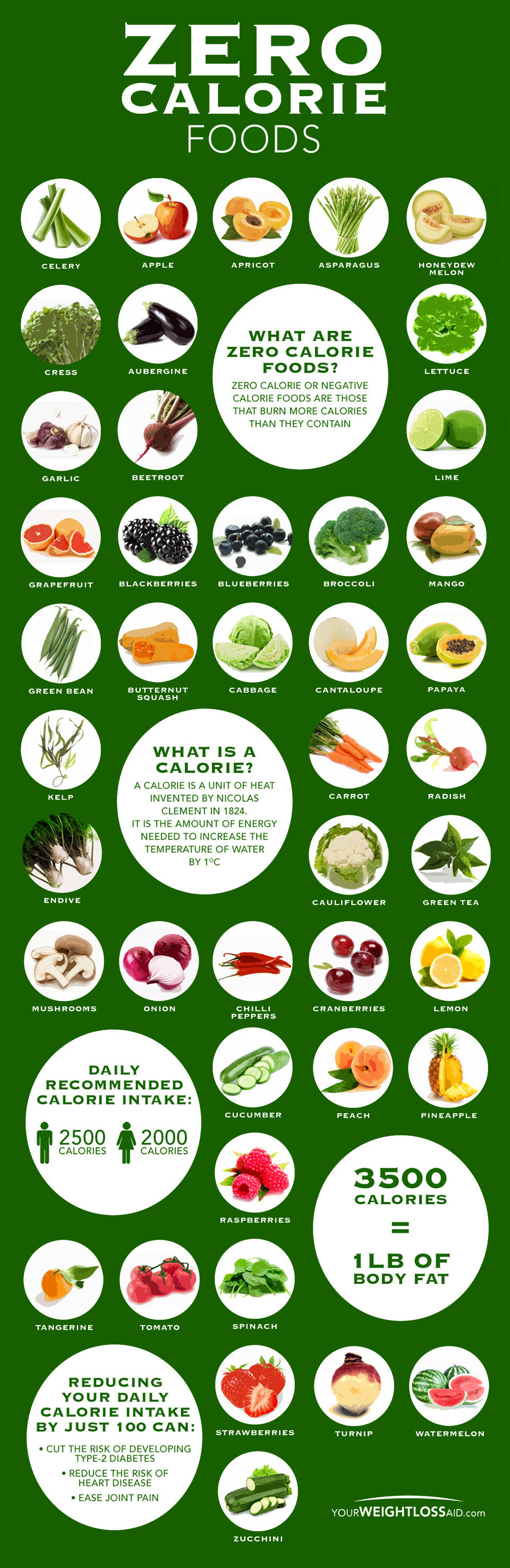 Zero Calorie Foods That Will Help You Lose Weight Fast