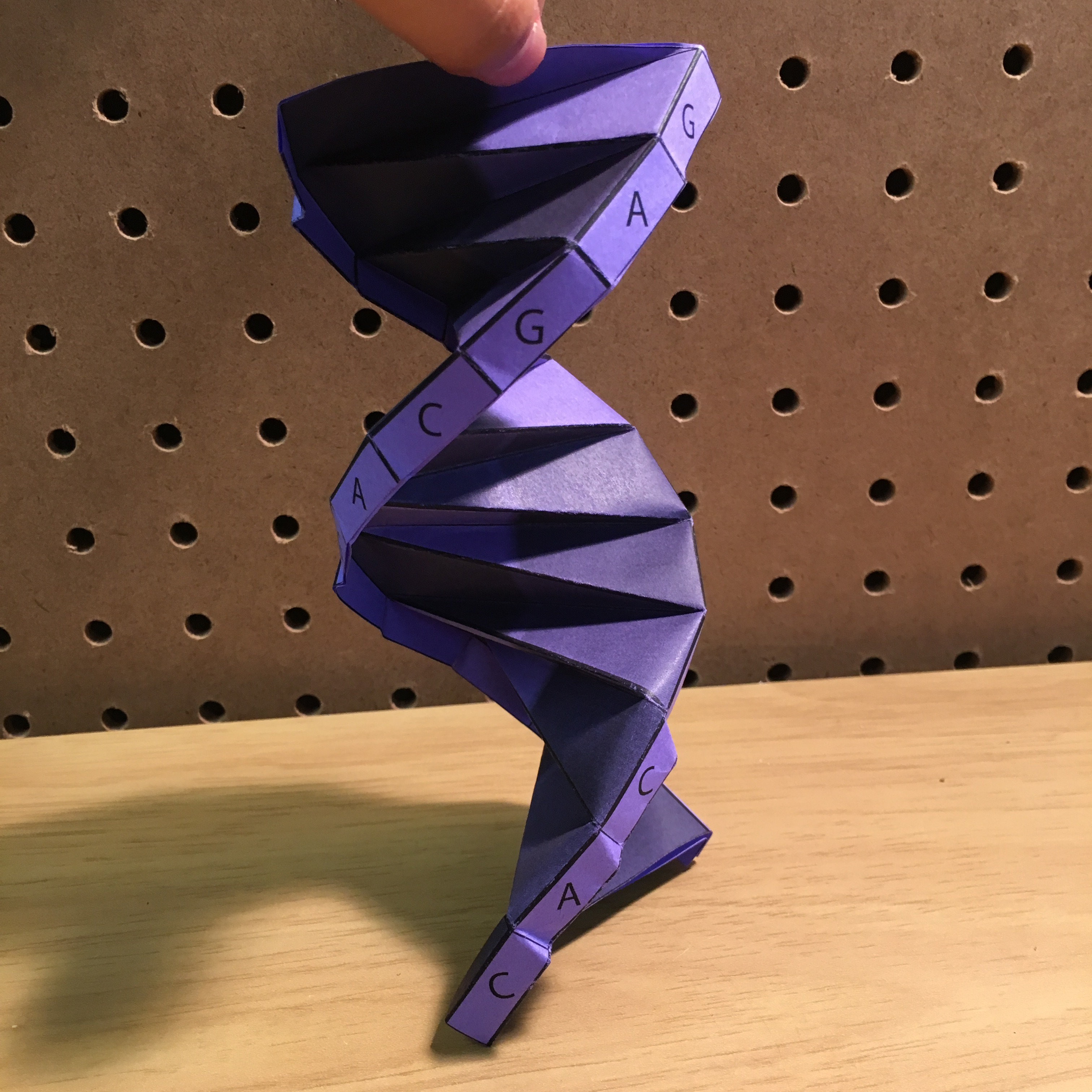 Dna Double Helix Model Origami