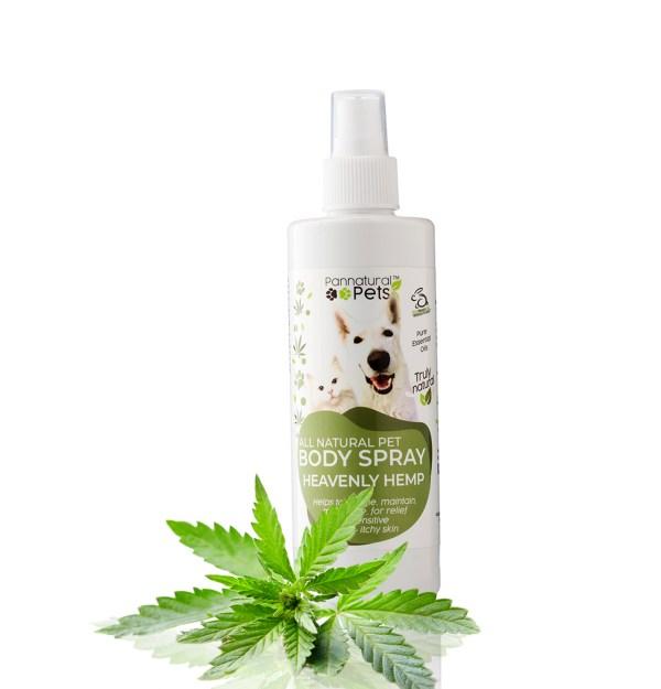 Pannatural Pets Heavenly Hemp Pet Body Spray