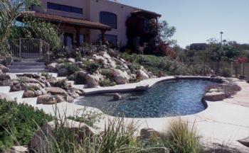 natural pools gardens in tucson az