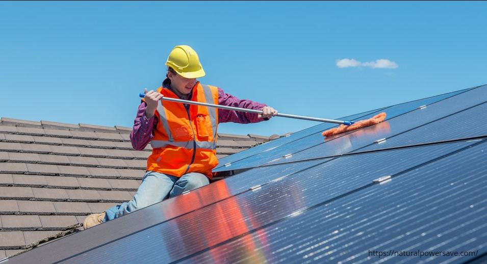 How to Clean Solar Panels step by step-2019