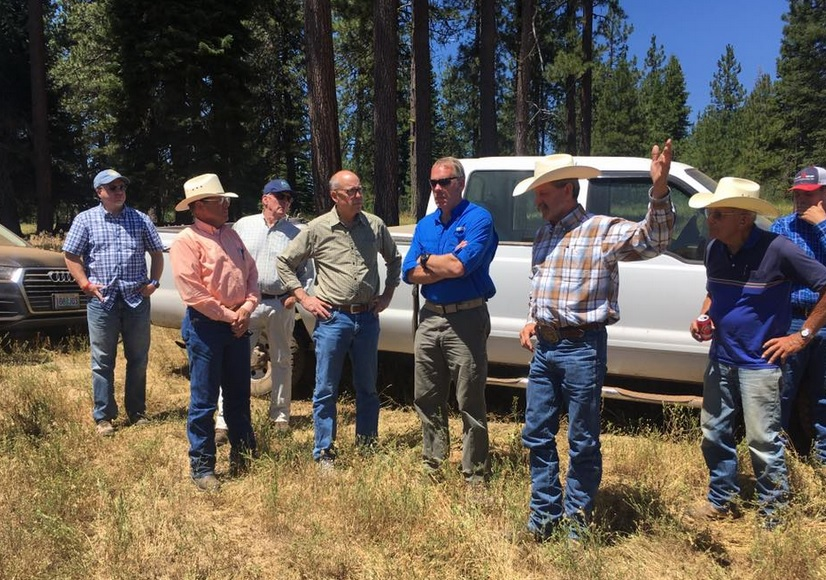 Interior Sec Oregon Visit On Monument Debate Natural Resource Report