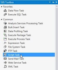 The Script Task