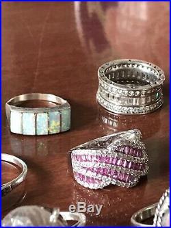 Ringjob : ringjob, Sterling, Silver/925, Jewellery, Semi-precious, Precious, Stones
