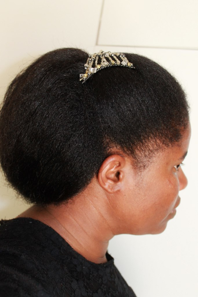 Quick N Easy Updo Hairstyle On My Natural Hair  Natural