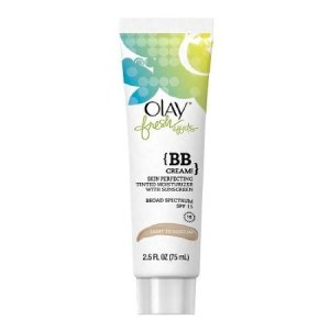 Image shows a tube of Olay Fresh Effects BB Cream.