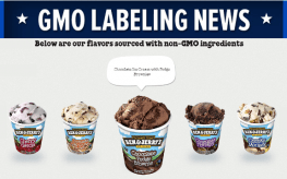 gmo ben jerrys crop Banner 263x164 Ben & Jerry's Ice Cream Switches to Non GMO, and Fair Trade Means BIG Changes
