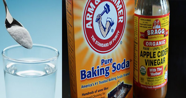 The health benefits of Apple Cider Vinegar and Baking Soda