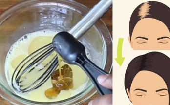 A homemade tonic to reverse hair loss