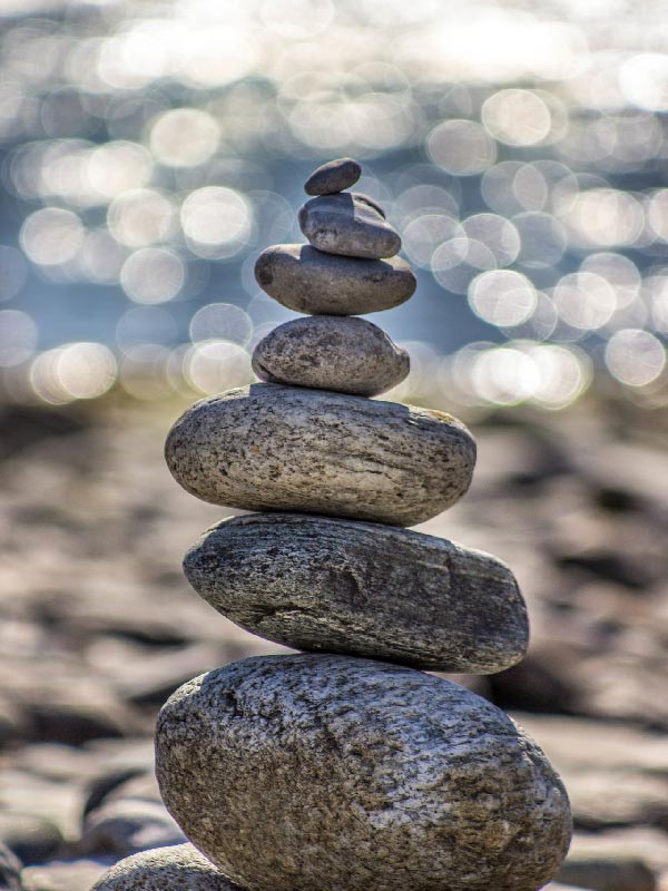Therapy Counseling Healing Water Stone Self Care