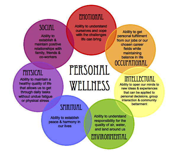 Counseling Wellness Wheel