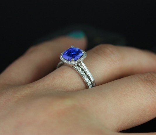 Tanzanite Engagement Rings