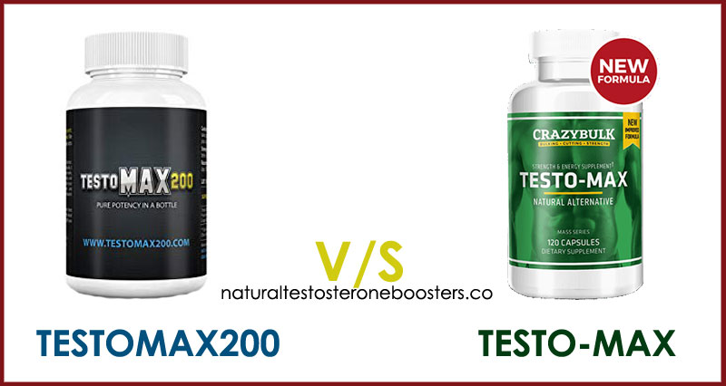 TestoMax200 vs Testo-Max testosterone boosting supplements review