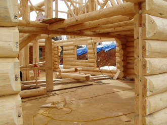 log homes by Richard Jenkins