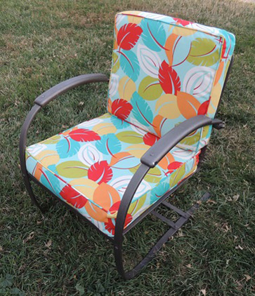 patio chair pads behind the awards 2018 amanda s cushions naturalupholstery com with brightly colored