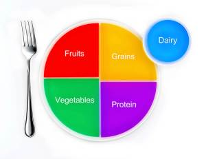 the new my plate replacing food pyramid