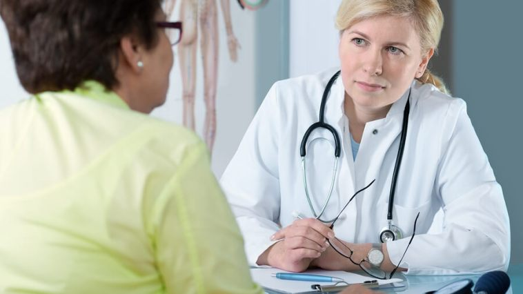 patient meeting with the doctor