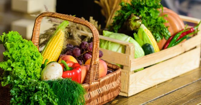 Homegrown Organic Vegetables