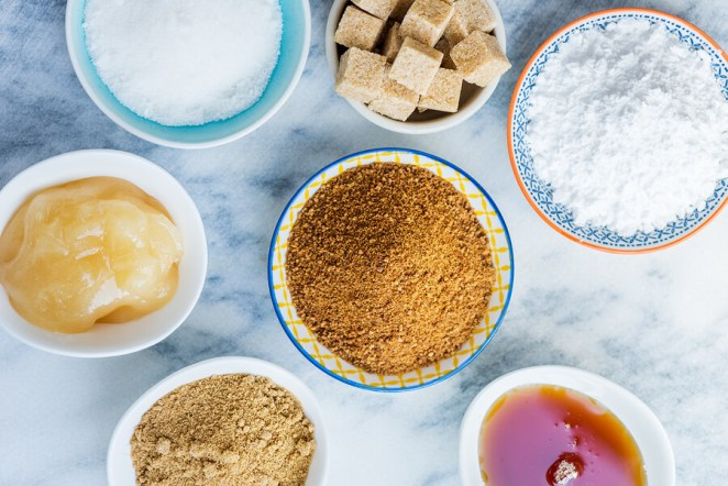 Vegan sweeteners sugar honey syrup