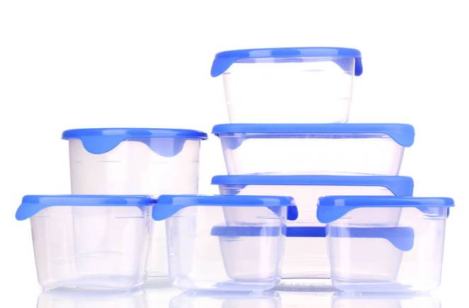 Plastic containers reusable
