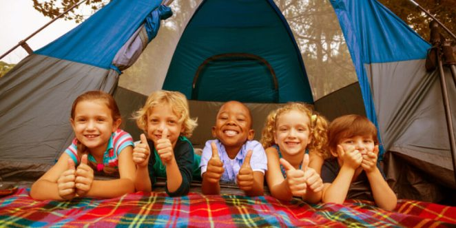 Stay Busy & Healthy All Season with Kids Summer Activities_Sleepover