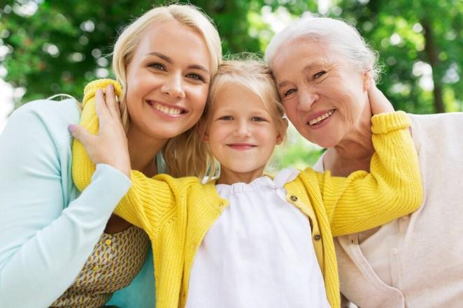 Woman Child Elderly
