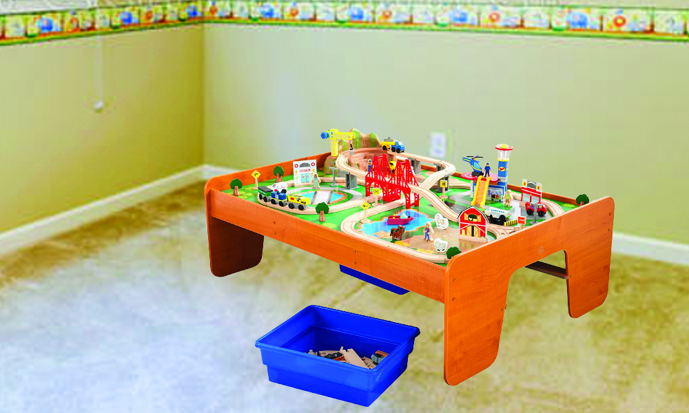 Kidkraft Aero CityWooden Train Table Review