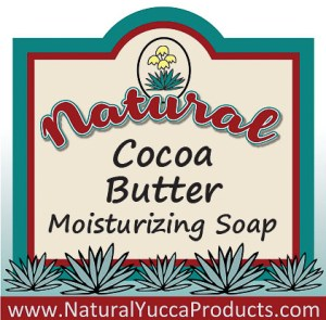 cocoa butter, natural, soap, yucca, resveratrol, coconut sensitive, https://naturalyuccaproducts.com/natural-yucca-soap/
