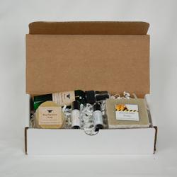 yucca, gift box, bug repellent, soap, lip balm, natural