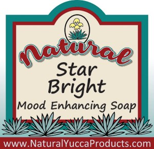 star bright, natural, soap, annatto oil, yucca, essential oils, coconut, olive oil, https://naturalyuccaproducts.com/natural-yucca-soap/