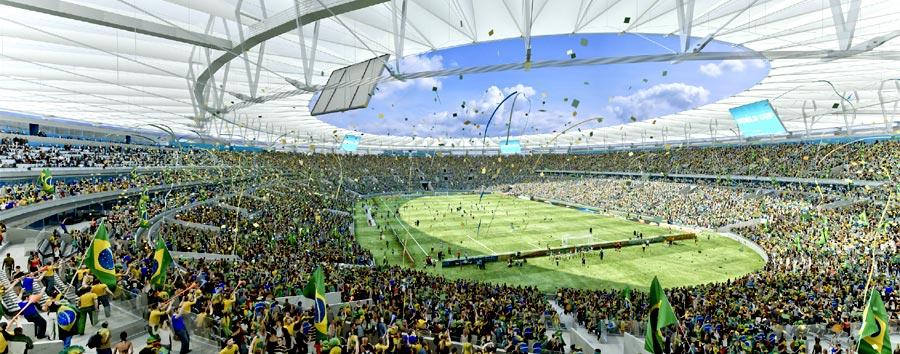 Estádio do Maracanã - Rio de Janeiro - RJ - Foto