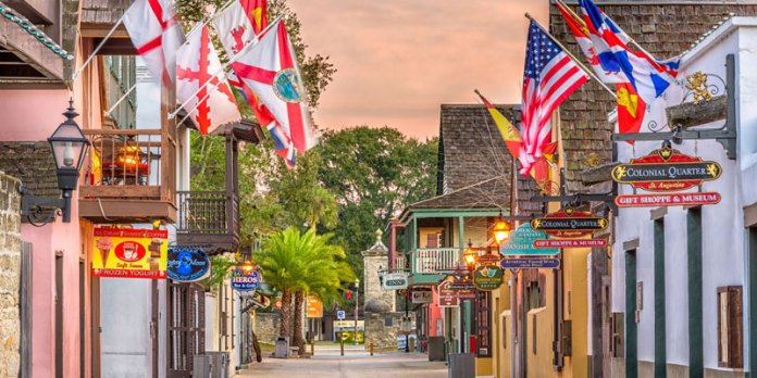 Pontos turísticos da Flórida - St Augustine's Historic District foto