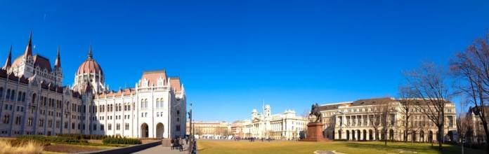 Arredores do Parlamento foto
