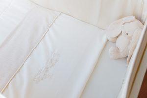 Bettlaken-Set mit Häschen