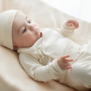 Babybroek met voetjes set